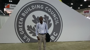 Stand of USGBC in the Expo Hall